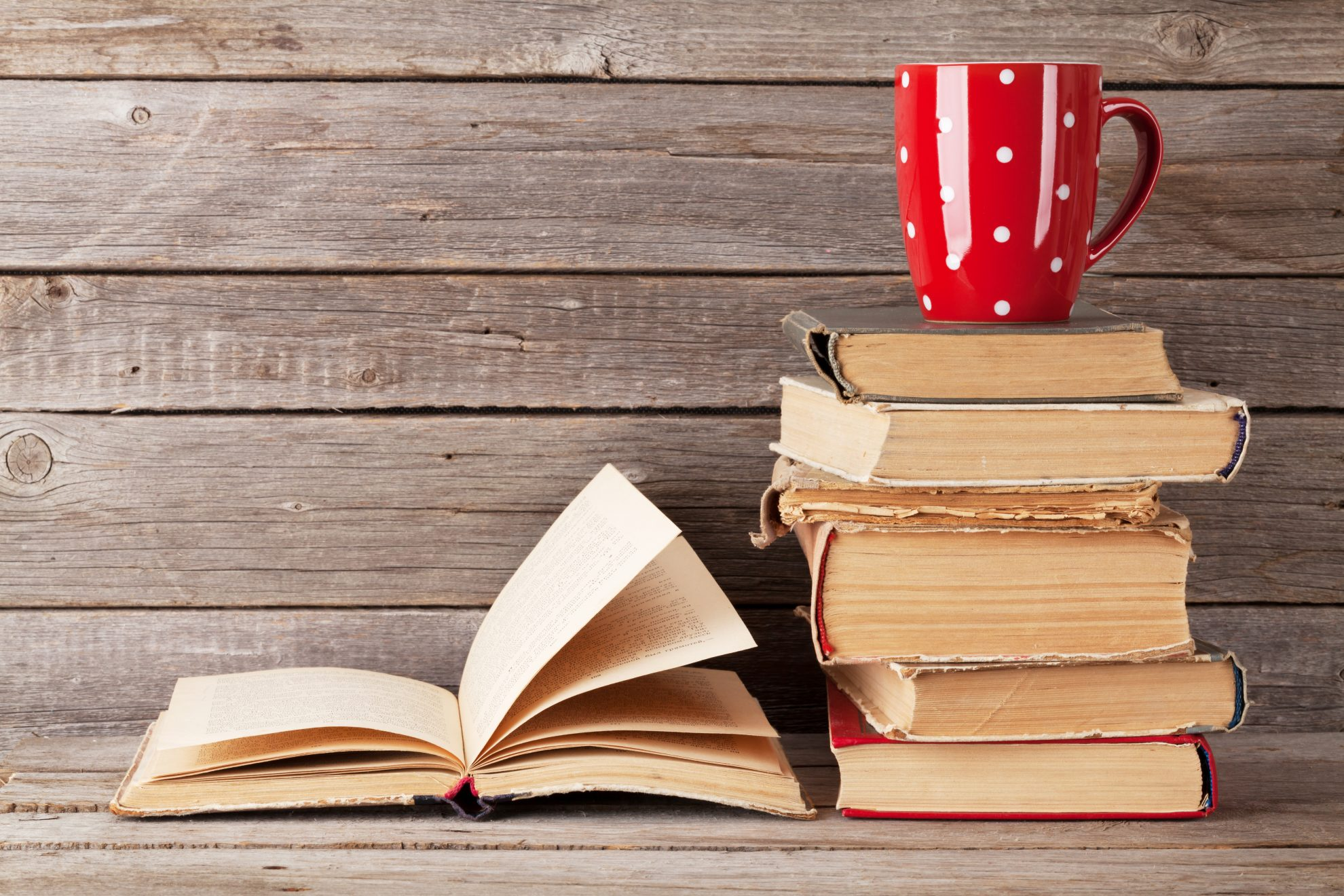 Book list for Flaxseed & Fairytale readers with book recommendations and health benefits of reading books