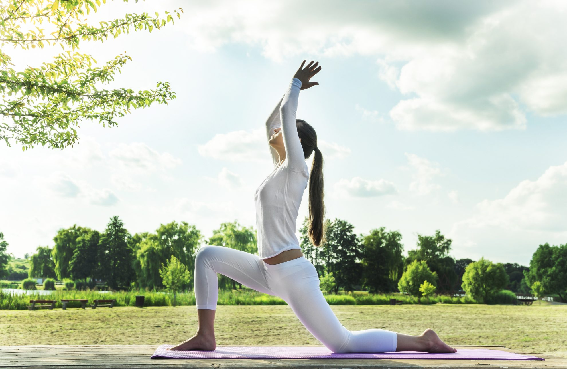 Mindful movement or yoga is a great way to stay awake during meditation