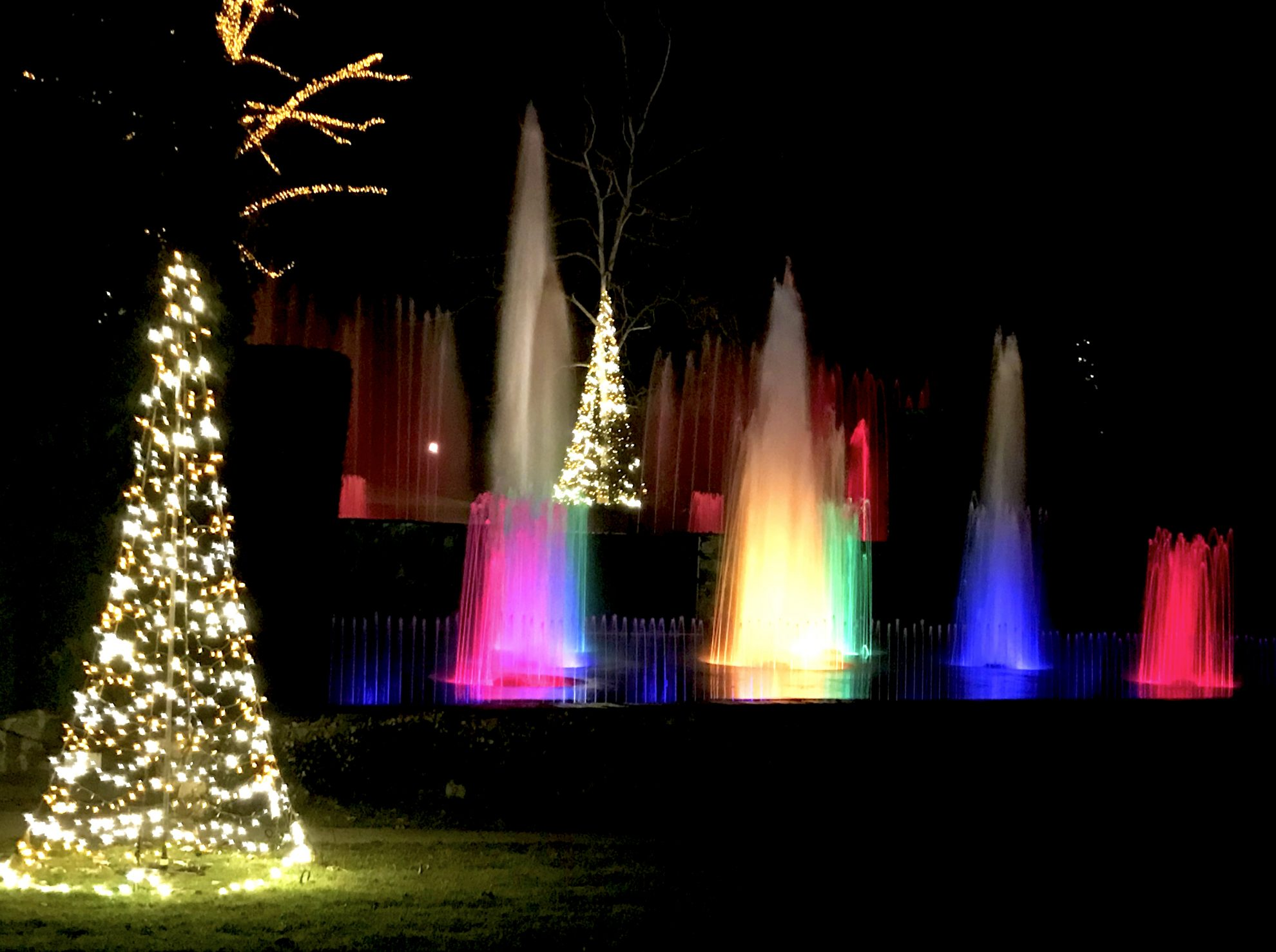 Visit To Longwood Gardens Holiday Lights A Longwood Christmas