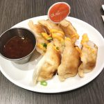 Gluten-free potstickers at Friedmans are part of a delicious gluten-free dinner in nyc