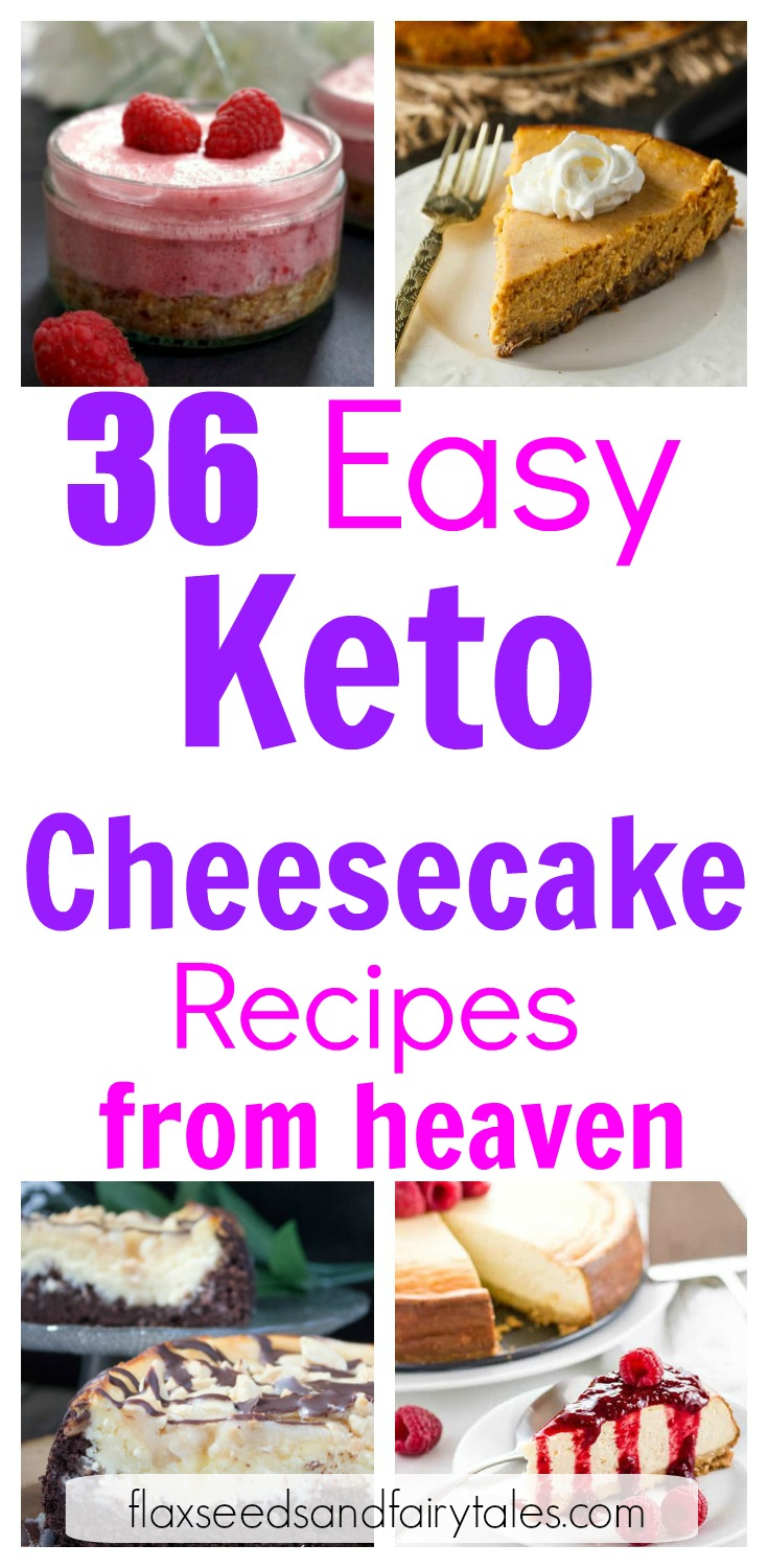 The best keto cheesecake I've ever tried! These 36 delicious & easy keto cheesecake recipes satisfied my cravings and helped me lose weight on the ketogenic diet! They were so simple and quick to make with lots of gluten free options. Low carb and so yummy!