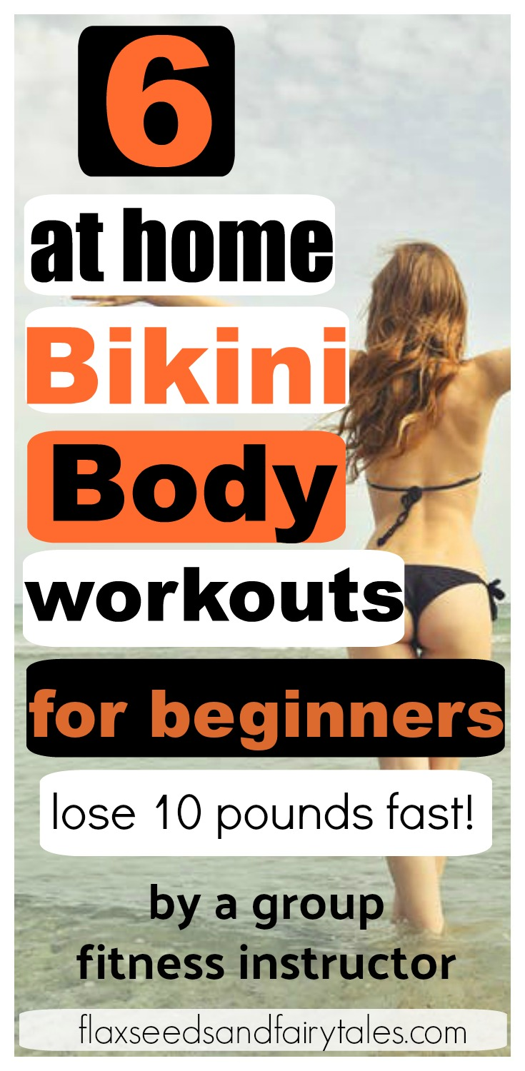 Beginner workouts to lose weight fast at home! Great fat burners for women to get bikini bodies quickly and easily by working out at home. The best beginner at home exercises for weight loss and toning. #weightlossworkouts #workoutathome #workoutforbeginners