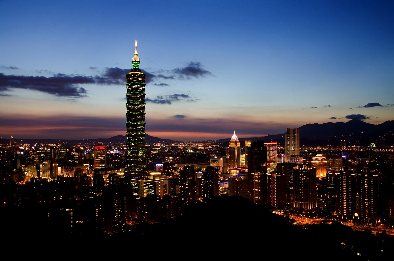 Taipei, Taiwan is one of the most beautiful cities in the world