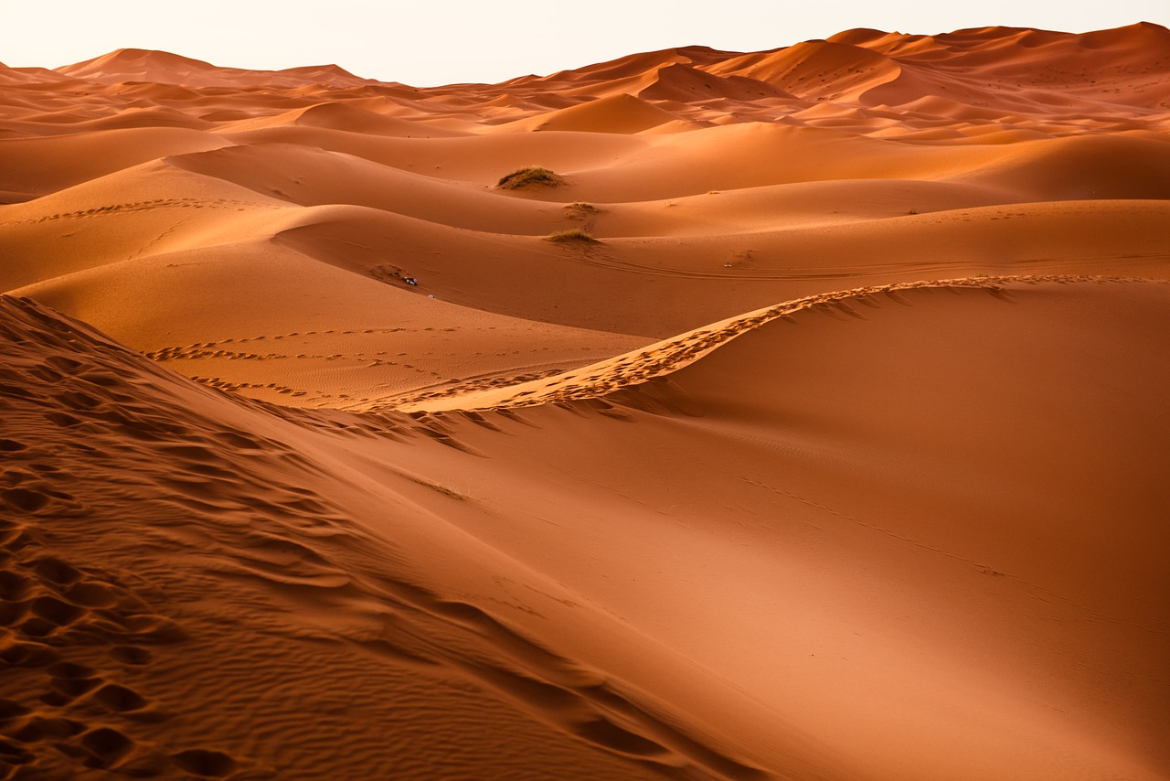 Sahara Desert in Morocco is one of the most beautiful places in the world to travel