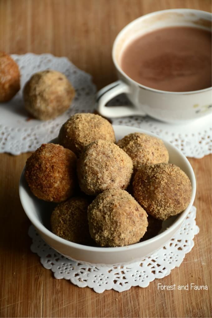Easy AIP breakfast recipe donut holes