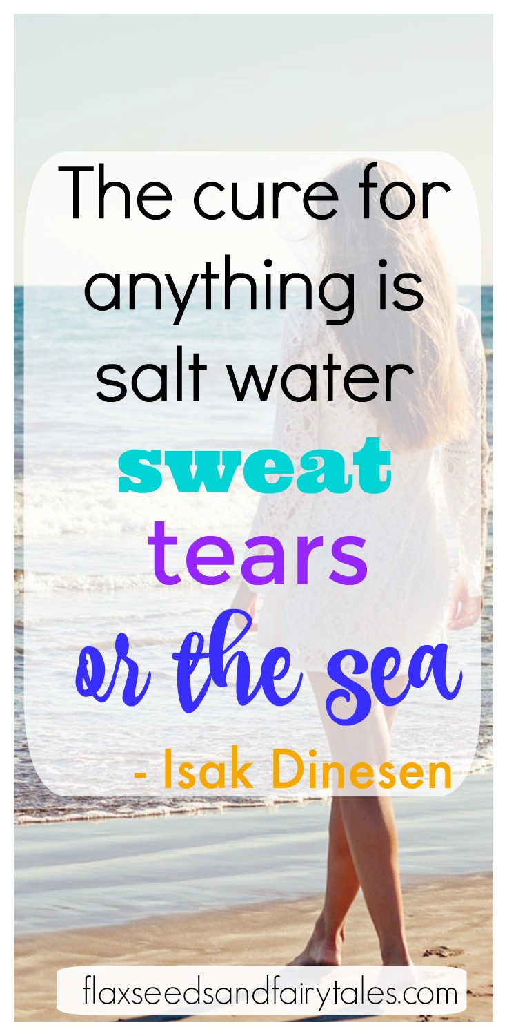 I love this inspirational beach quote! It shows all the amazing health benefits of the beach. I can't wait for my beach trip this summer so I can soak up all that health! #beachquotes #beachideas #beachinspiration