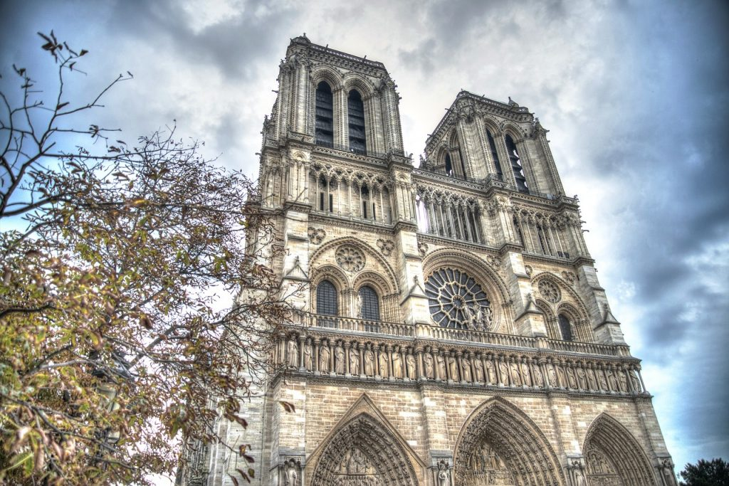 Beautiful Notre Dame Cathedral