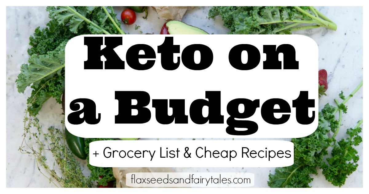 Learn how to eat keto on a budget with a cheap keto grocery list, cheap keto fast food options, and cheap keto dinner recipes. Enjoy low carb and keto for cheap!