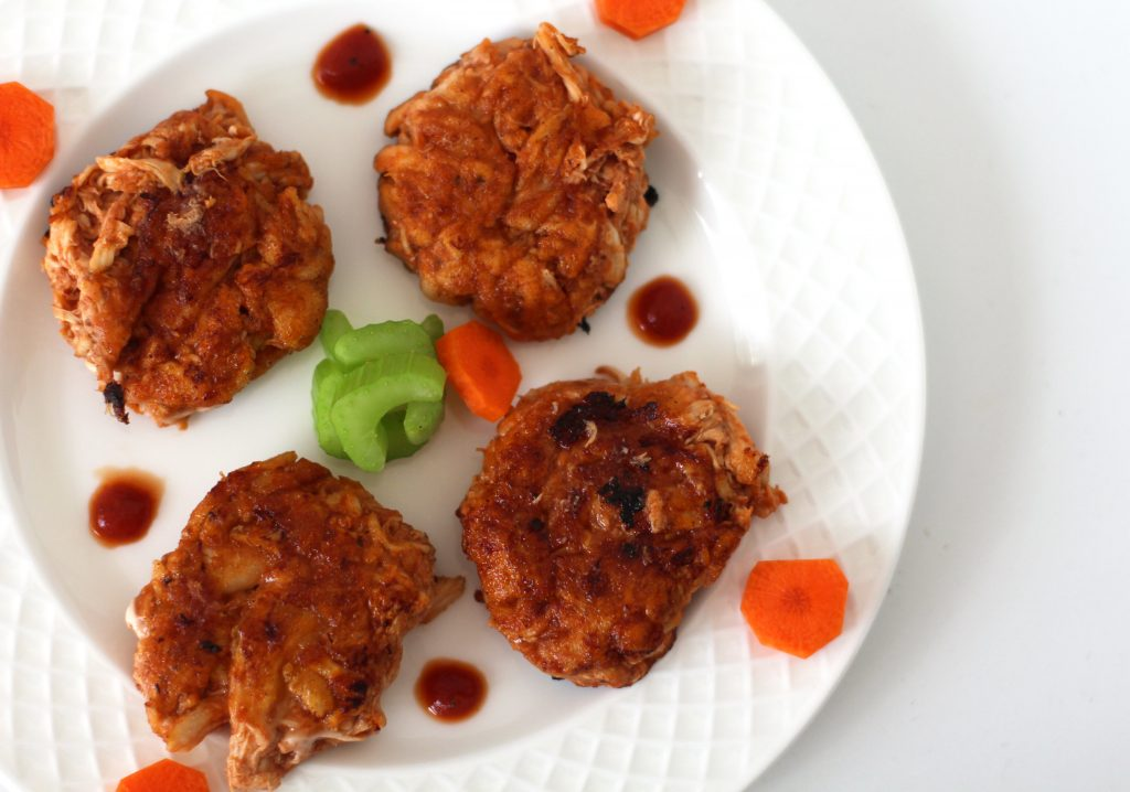 Easy AIP chicken recipe with pulled chicken and AIP BBQ Sauce