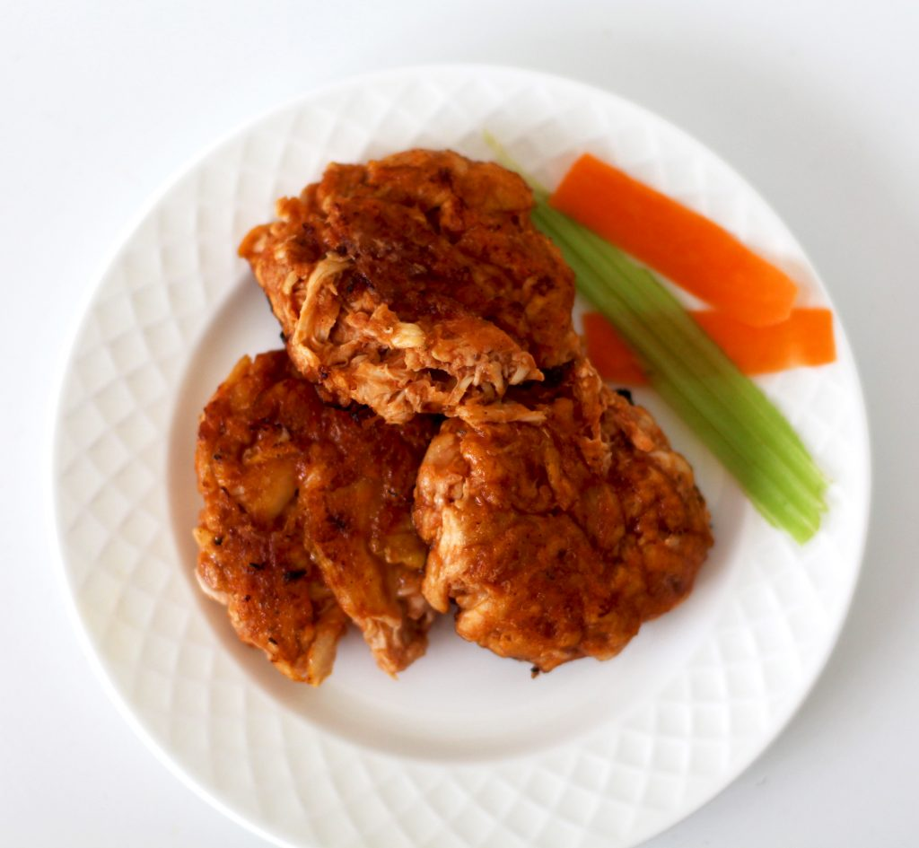 AIP BBQ Chicken Fritters are a delicious and easy AIP chicken recipe. It has only 3 ingredients and takes just 10 minutes to make! Includes Whole30 and Paleo options too.