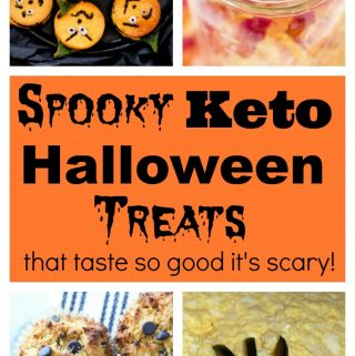 Low Carb Keto Halloween Treats for adults and kids!