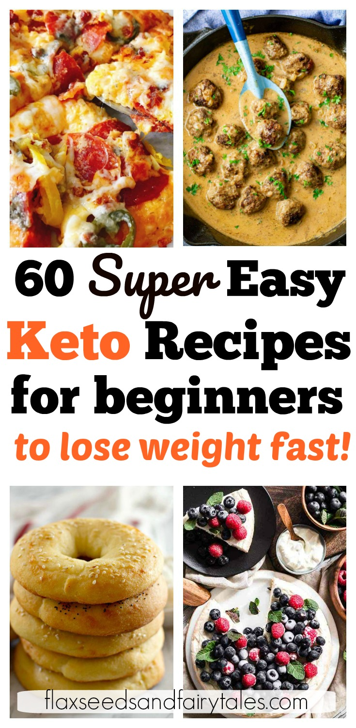 I'm so glad I found these free keto recipes for beginners! They've made starting keto so easy and simple. I've used these keto recipes for beginners to create my own meal plan with breakfast, lunch, dinner, snacks, fat bombs, and dessert! #ketodiet #ketobeginners
