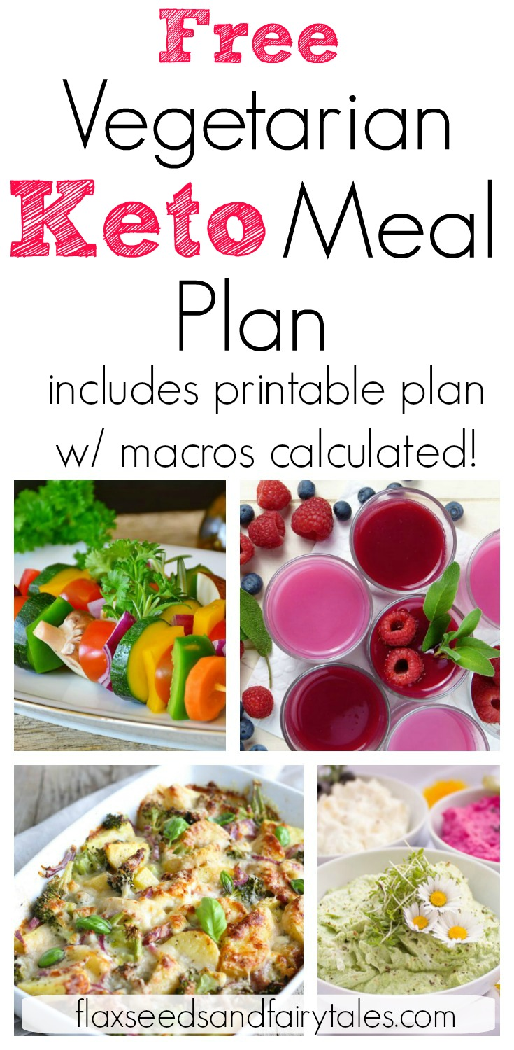 Free 7 Day Vegetarian Keto Meal for fast and easy weight loss! A simple low carb vegetarian keto meal plan that even a beginner can follow. Includes 28 easy recipes for breakfast, lunch, dinner, and a snack. PLUS free printable with macros calculated for you. #vegetarianketo